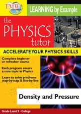 Physics Tutor: Density and Pressure DVD