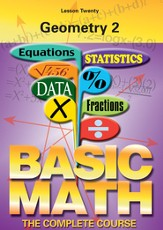 Basic Math Series: Geometry 2 DVD