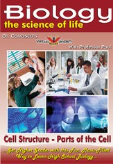 Cell Structure - Parts of the Cell DVD