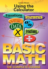 Basic Math Series: Using the Calculator DVD