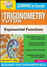 Trigonometry Tutor: Exponential Functions DVD