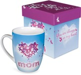 Mom, Butterfly Heart Mug