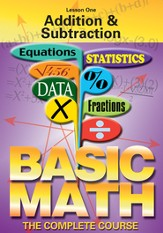 Basic Math Series: Addition & Subtraction DVD