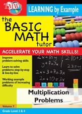 Basic Math Tutor: Multiplication Problems DVD