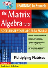 Multiplying Matrices DVD