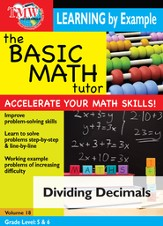 Basic Math Tutor: Dividing Decimals DVD