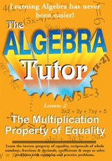 Algebra Math Tutor: Multiplication DVD