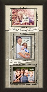 Faith, Family, Friends Photo Frame