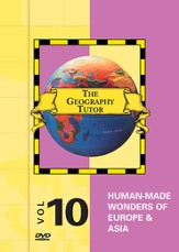 Geography Tutor: Human-Made Wonders of Europe & Asia DVD
