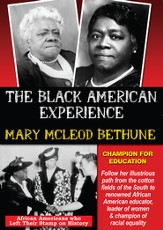 Mary Mcleod Bethune: Champion For Education DVD