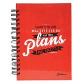 Your Plans Will Succeed Wirebound Journal