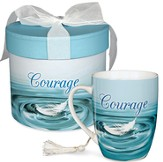 Courage Mug, Feather
