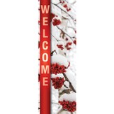 Welcome - February (Winter) Banner (2' x 6')
