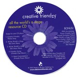 Creative Friendzy: All the World's a Stage Resource CD (Audio/CDROM)