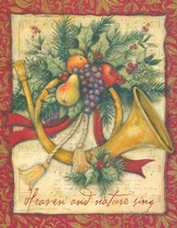 Heaven and Nature Sing Christmas Cards, Box of 18