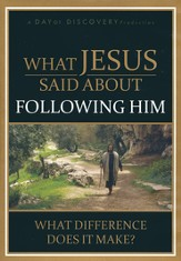 What Jesus Said About Following Him: What Difference Does it Make? - DVD