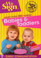 We Sign Babies & Toddlers - DVD