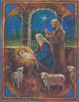 For Unto You is Born Christmas Cards, Box of 18