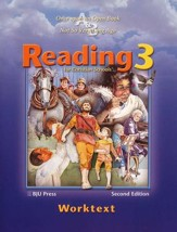 BJU Reading Grade 3, Student Worktext
