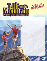 Tell It on the Mountain Publicity Poster