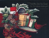 Thanks Be to God Christmas Cards, Box of 18