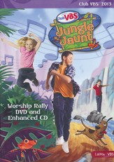 Jungle Jaunt Worship Rally DVD / Enhanced CD