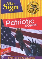 We Sign Patriotic Songs, DVD
