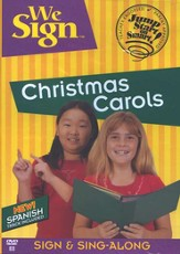 We Sign Christmas Carols, DVD