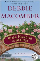 Rose Harbor in Bloom, Large Print
