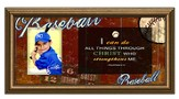 I Can Do All Things, Baseball Photo Frame