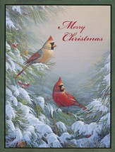 Crisp Morning Christmas Cards, Box of 16
