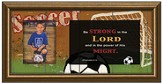 Be Strong In the Lord, Soccer Photo Frame