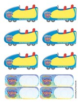 Sticker Name Tags, pack of 100