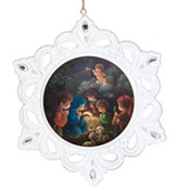 Holy Family Snowflake Ornament, Precious Moments