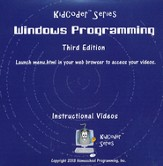 KidCoder: Windows Programming Course, Supplemental Instructional DVD, 3rd Edition