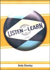 Listen and Learn, DVD
