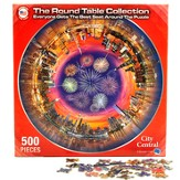 City Central, 500 Piece Round Puzzle
