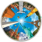 The Round Table Collection: Legendary Landmarks, 700 Piece Puzzle