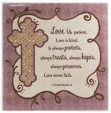 Love, Love Never Fails Tile