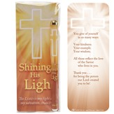 Shining His Light Pen and Jumbo Bookmark Gift Set