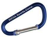 MEGA Sports Camp Carabiners, Pack of 5