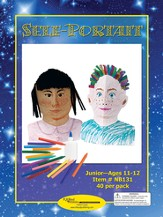 Self-Portrait Craft Kits, 40 Pack, Ages 11-12