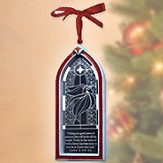 Angel Christmas Story Window Ornament