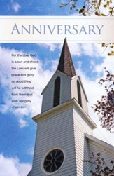 Church Anniversary (Psalm 84:11) Bulletins, 100
