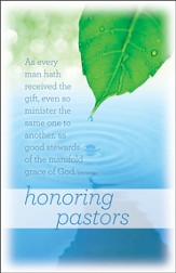 Honoring Pastors (1 Peter 4:10) Bulletins, 100