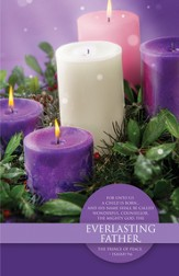 Everlasting Father (Isaiah 9:6) Advent Bulletins, 100