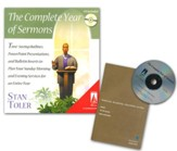 Complete Year of Sermons: Time Saving Outlines PowerPoint Presentations and Inserts Book & CD-ROM