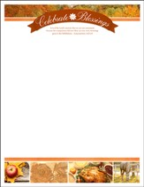 The Lord's Mercies (Lamentations 3:22-23) Letterhead, 100
