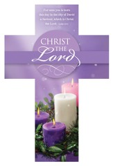 Christ the Lord (Luke 2:11) Cross Bookmarks, 25