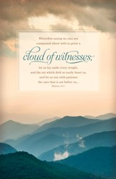 Cloud of Witnesses (Hebrews 12:1) Bulletins, 100